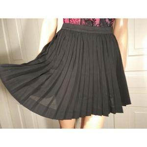 H&M Divided pleated skirt schoolgirl skater mini 6